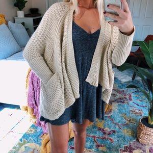 Sweaters - oatmeal gypsy cardigan